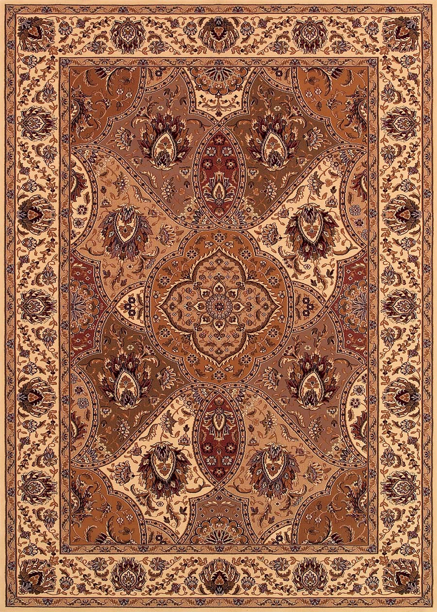 Couristan Himalaya 6290/1968 Samsara Antique Cream/Multi Rug